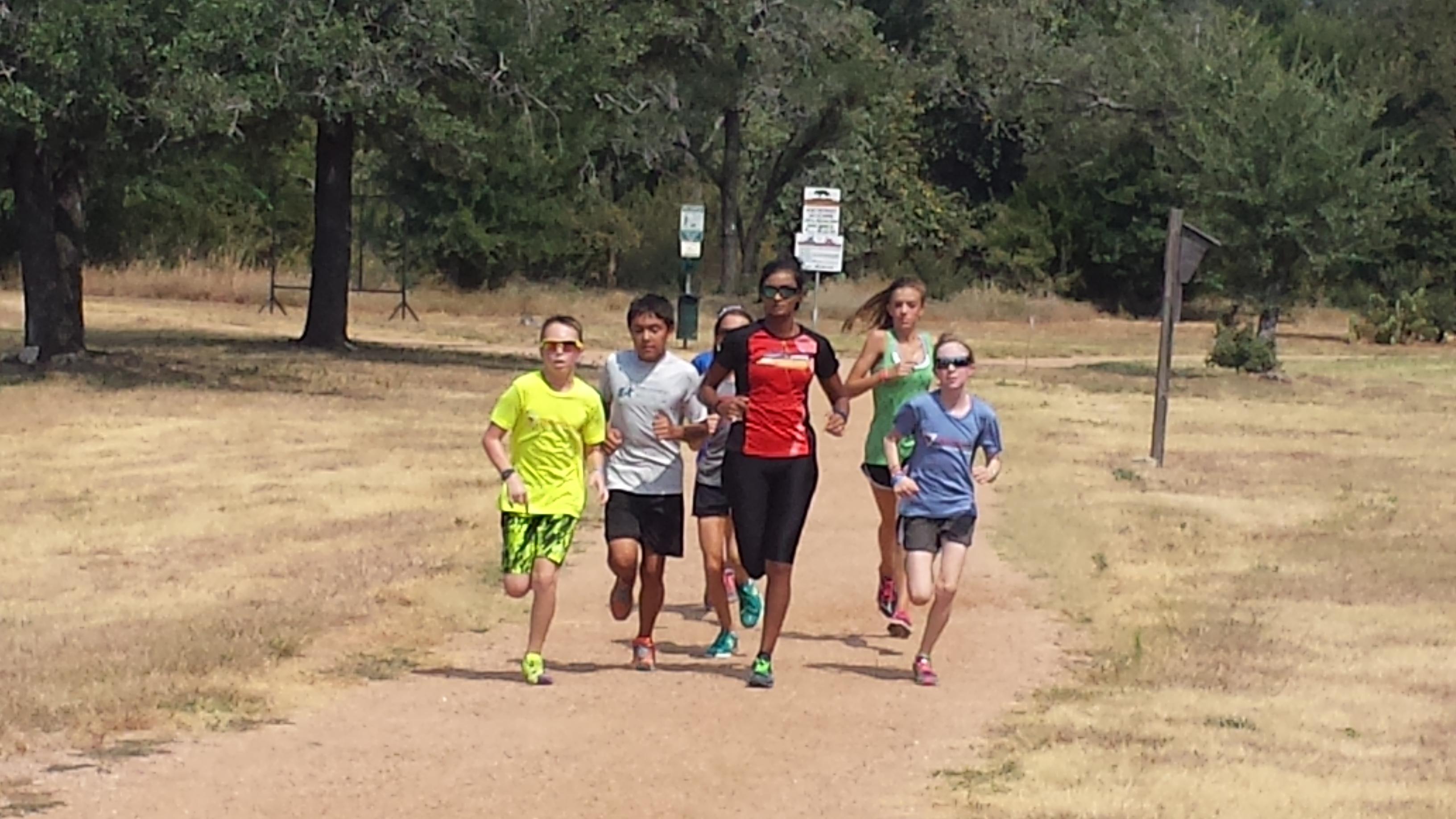 Pooja-with-team-run