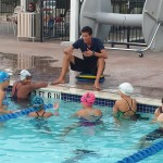 Swim session with Coach Nate